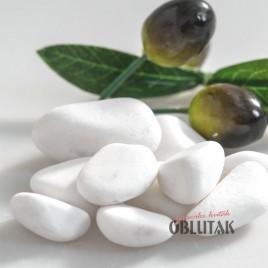 """White Marble Pebbles Oblutak """"Hilandar"""""""