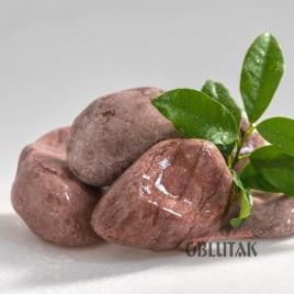 """Red Marble Pebbles Oblutak """"Vinca"""""""